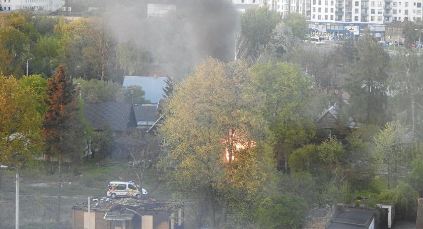 Wiadomości, spłonął kolejny Monitoringu nadal - zdjęcie, fotografia